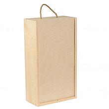 Polotovary - Krabica na 2 vína - 9740064_