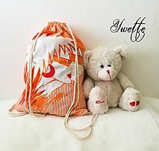 Batohy - YWETTE: oranžový život - 9740006_