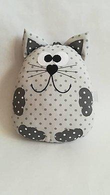 Hračky - Mačka - vankúšik - 9739436_