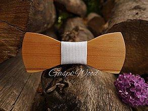 Doplnky - Drevený motýlik - Carpi 2P - 9738840_