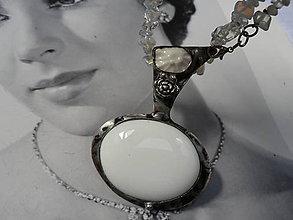 Náhrdelníky - Náhrdelník, Něžný - 9738891_