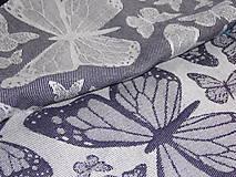 Textil - Baby Monkey Butterfly Poppy - 9737804_