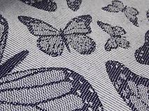 Textil - Baby Monkey Butterfly Poppy - 9737805_