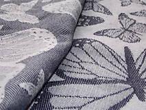 Textil - Baby Monkey Butterfly Poppy - 9737806_
