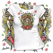 Tričká - Tričko Flowerina - 9739237_