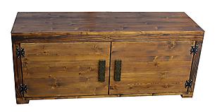 Nábytok - Botník drevený - 9738659_