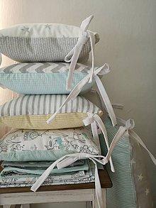 Textil - Súprava do postieľky - Baby Birds - 9742466_