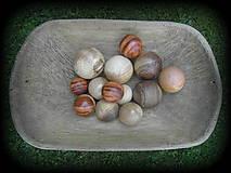 Dekorácie - drevené gule... - 9742446_