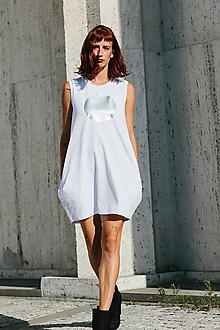 Šaty - FNDLK úpletové šaty 303 BK - 9740997_