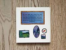 Obrazy - Muzeálna reprodukcia ilustrácie - Mesto v horách - 9741710_