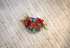 Ozdoby do vlasov - Svadobný polvenček so stuhou - 9743261_