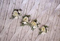 Náramky - Kvetinový náramok pre družičky - 9743281_