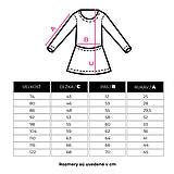 Detské oblečenie - BIO šaty - Dots and Stripes stillwater - 9740378_