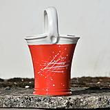 Nádoby - Vařečkovnice/váza/květináč Panenka - Muchomůrka - 9741476_