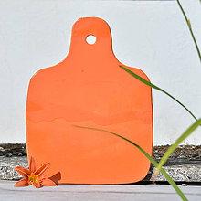 Nádoby - Servírovací prkénko 32 cm - Oranžáda - 9741289_