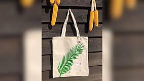 Iné tašky - ♥ Plátená, ručne maľovaná taška ♥ - 9741050_