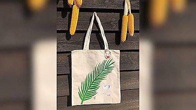 Iné tašky - ♥ Plátená, ručne maľovaná taška ♥ (UL1) - 9741050_