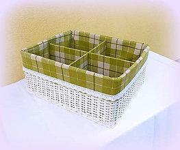 Košíky - Košík - prepážkový (43 x 35 v 20 cm) - 9742075_