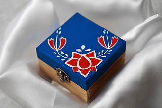 Prstene - Krabička - Tradične netradičná - 9743947_
