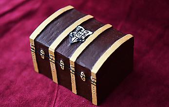 Krabičky - Krabička - Harry Potter kufor - 9743980_