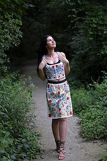 Šaty - AKÝ KRAJ, TAKÝ KROJ - midi šaty - 9744405_