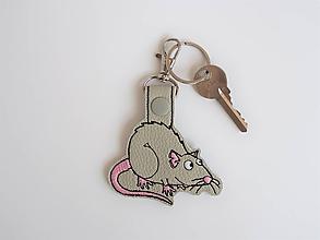 Kľúčenky - Prívesok potkaník - 9743716_