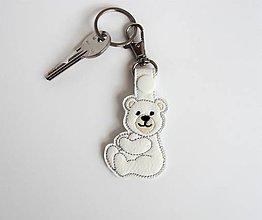 Kľúčenky - Prívesok macko - 9743739_