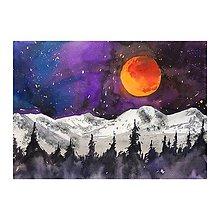 Obrazy - Obraz - Krvavý mesiac - 9743589_