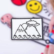 Iné doplnky - Chateee - hory nášivka - 9743454_