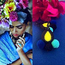 Náušnice - Frida - 9744660_