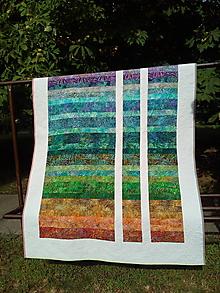 Úžitkový textil - Quiltovaná prikrývka - 9744511_