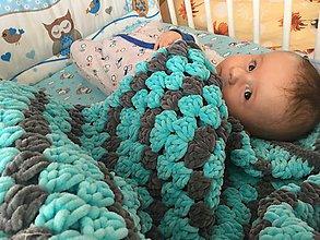 Textil - Deka do kočíka Puffy (A) - 9743352_