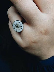 Prstene - Krása sušených kvetov - prsteň - 9744181_