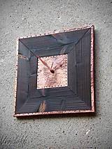 Hodiny nástenné dreveno-medené5