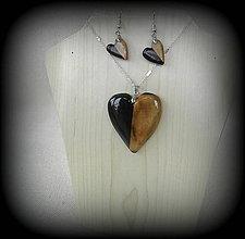 Sady šperkov - drevené prívesok... - 9745249_