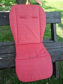 Textil - Elegantná červená - do Valco Snap - 9746402_