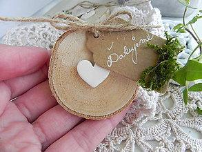 Darčeky pre svadobčanov - Svadobné magnetky pre machovú vílu:-) - 9746847_