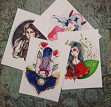 Papiernictvo - Napíš niekomu/ #krásneženy pohľadnice - 9746187_