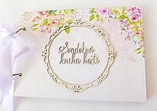 Papiernictvo - svadobná kniha hostí - 9745663_
