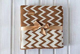 """Textil - Detská deka, """"Cheri"""", OEKO-TEX®, Rôzne farby  (Hnedá) - 9746926_"""