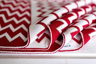 """Textil - Detská deka, """"Cheri"""", OEKO-TEX®, Rôzne farby  (Červená) - 9746953_"""