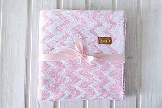 """Textil - Detská deka, """"Cheri"""", OEKO-TEX®, Rôzne farby  (Ružová) - 9746968_"""