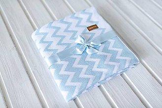 """Textil - Detská deka, """"Cheri"""", OEKO-TEX®, Rôzne farby  (Modrá) - 9746987_"""