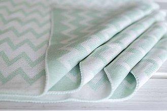 """Textil - Detská deka, """"Cheri"""", OEKO-TEX®, Rôzne farby  (Zelená) - 9746993_"""