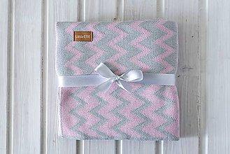 """Textil - Detská deka, """"Cheri"""", OEKO-TEX®, Rôzne farby  (Šedá) - 9747010_"""