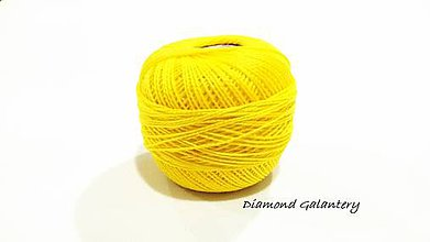 Galantéria - Perlovka - 162 - Svetlá žltá - 9747109_
