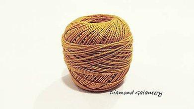 Galantéria - Perlovka - 176 - Svetlá horčicová - 9747118_