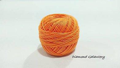 Galantéria - Perlovka - 218 - Svetlá oranžová - 9747122_