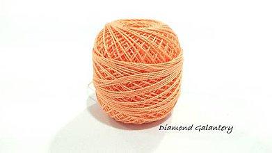 Galantéria - Perlovka - 273 - Svetlá marhuľová - 9747138_