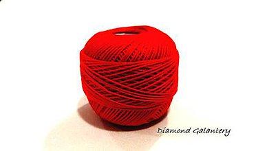 Galantéria - Perlovka - 329 - Svetlá Červená - 9747143_